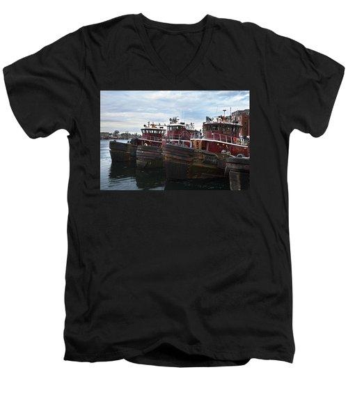 Portsmouth Tugs Men's V-Neck T-Shirt