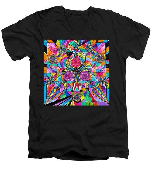 Positive Intention Men's V-Neck T-Shirt
