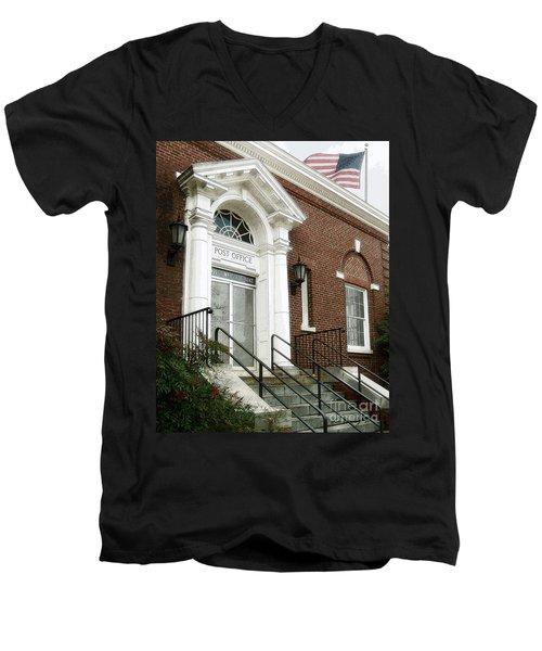 Post Office 38242 Men's V-Neck T-Shirt