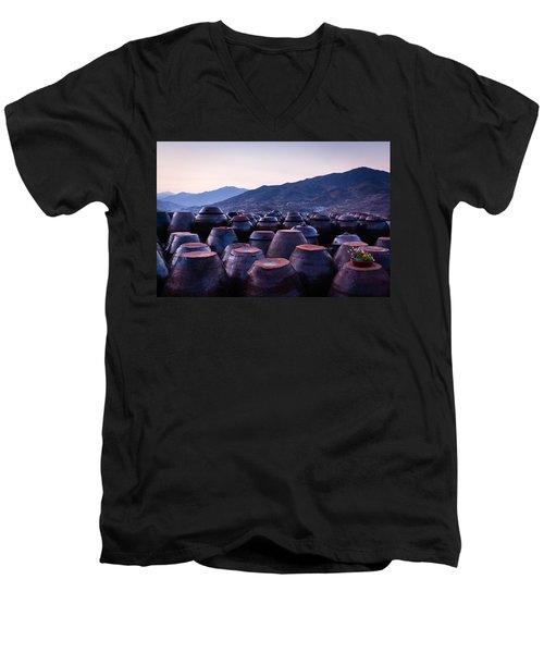 Pots Of Plum Men's V-Neck T-Shirt