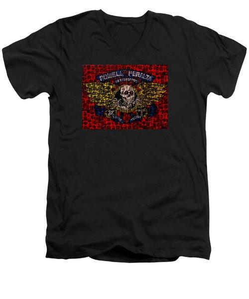 Powell Peralta Men's V-Neck T-Shirt