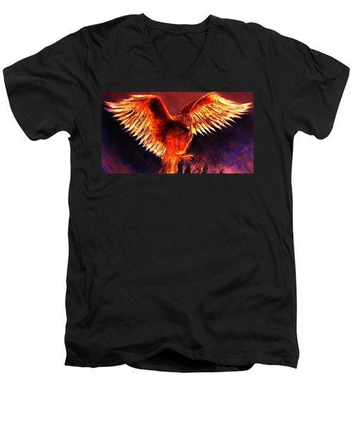 Power.. Men's V-Neck T-Shirt