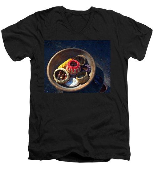 Powhatan Staples Men's V-Neck T-Shirt