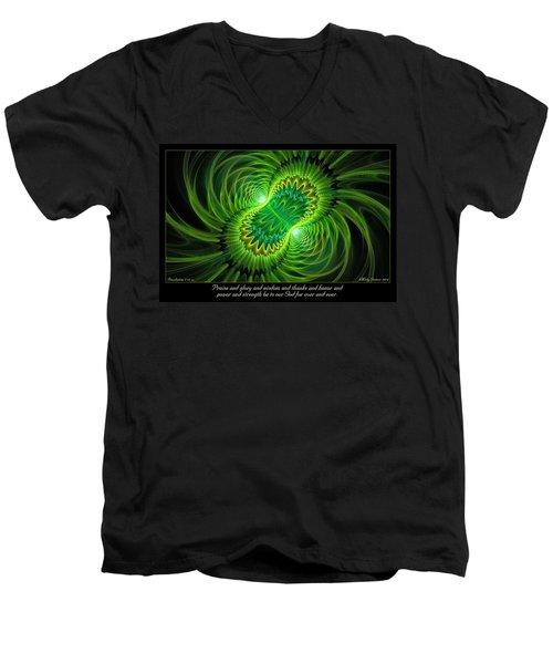 Praise And Glory Men's V-Neck T-Shirt