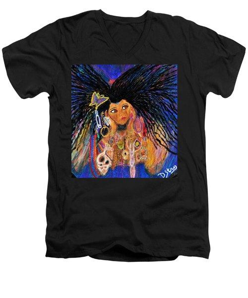 Precious Fairy Child Men's V-Neck T-Shirt