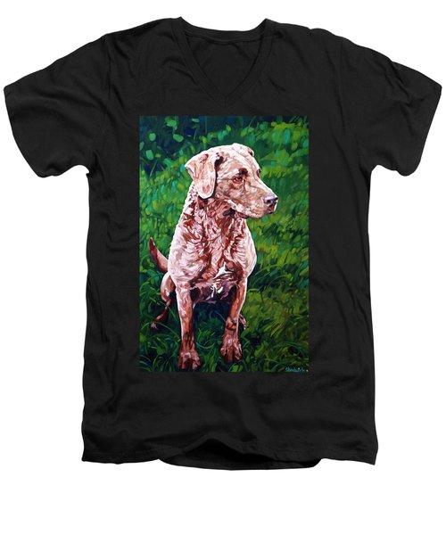 Pretty Girl Men's V-Neck T-Shirt
