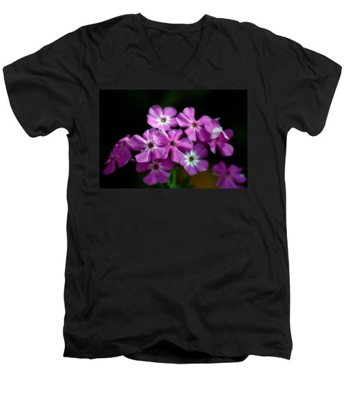 Pretty Purple Men's V-Neck T-Shirt