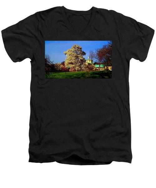 Prospect Park In Brooklyn II Men's V-Neck T-Shirt