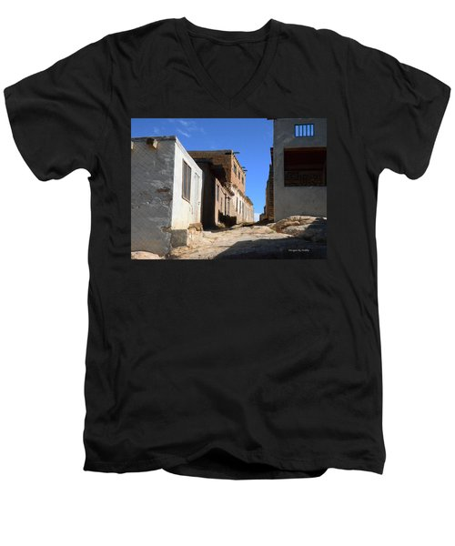 Pueblo Pathway Men's V-Neck T-Shirt