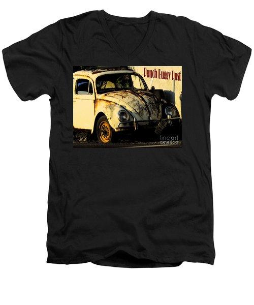 Punch Buggy Rust Men's V-Neck T-Shirt
