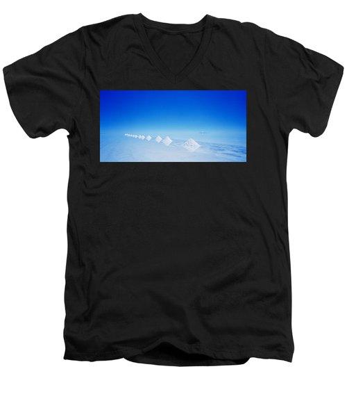 Purity Men's V-Neck T-Shirt by Shaun Higson