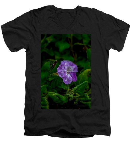 Purple Rain Men's V-Neck T-Shirt