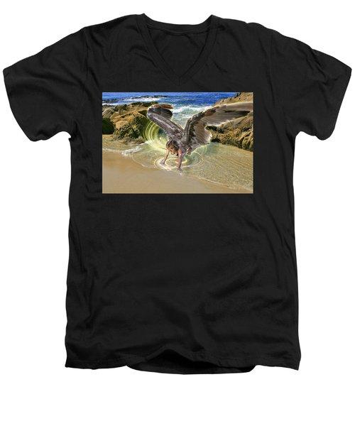 Put Your Trust In Him Men's V-Neck T-Shirt
