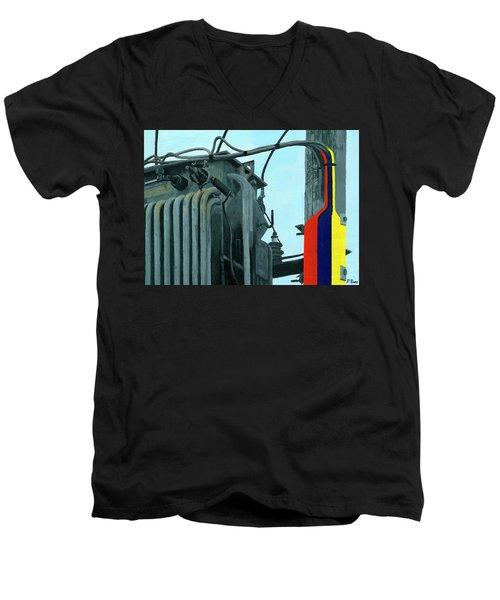 Pylon Men's V-Neck T-Shirt