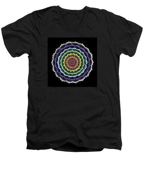 Quan Yin's Healing Men's V-Neck T-Shirt