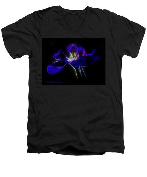 Quasar Iris Men's V-Neck T-Shirt