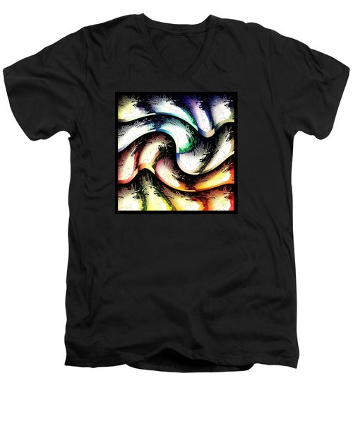 Queenly Men's V-Neck T-Shirt