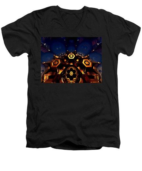 Queen's Chamber Men's V-Neck T-Shirt