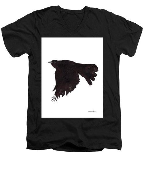 Quoth The Raven Men's V-Neck T-Shirt