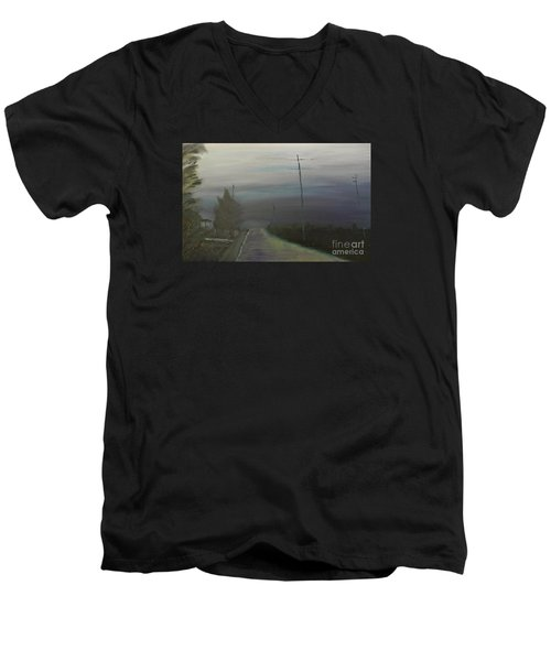 Rain Storm Men's V-Neck T-Shirt