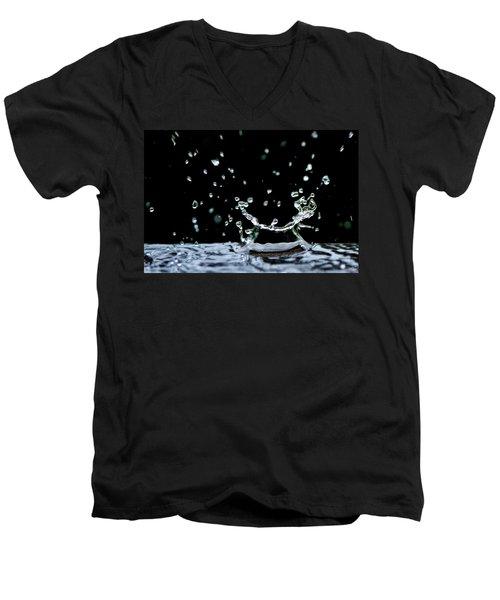 Raindrop Men's V-Neck T-Shirt