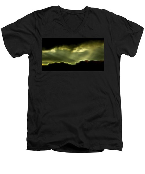 Rainlight 1 Men's V-Neck T-Shirt
