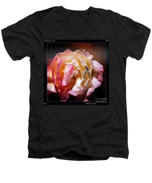Rainy Rose Men's V-Neck T-Shirt