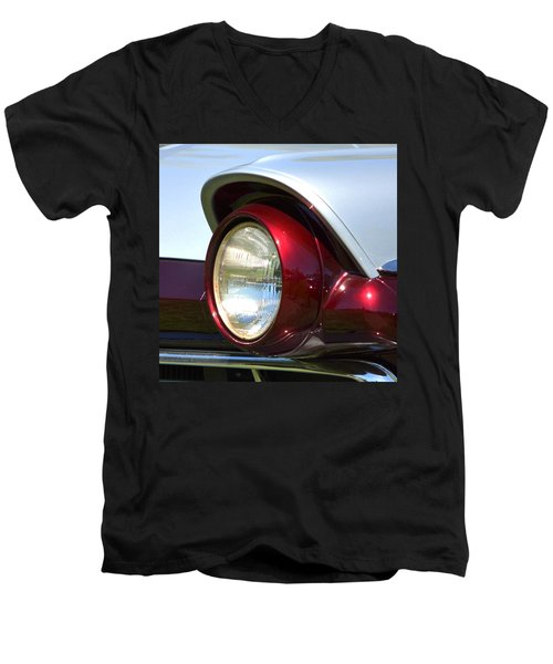 Ranch Wagon Headlight Men's V-Neck T-Shirt
