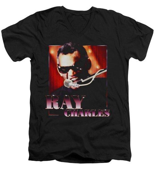 Ray Charles - Sing It Men's V-Neck T-Shirt