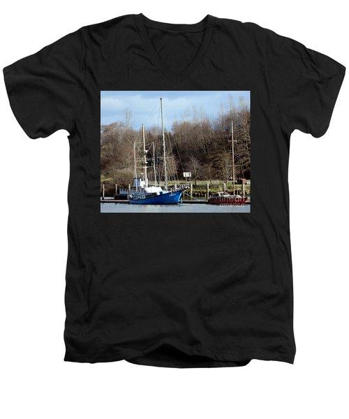 Raymond Fishing Boats Men's V-Neck T-Shirt