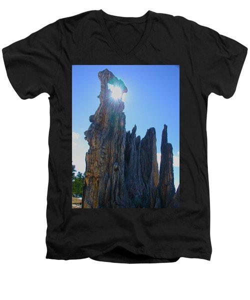 Rays Beyond Men's V-Neck T-Shirt