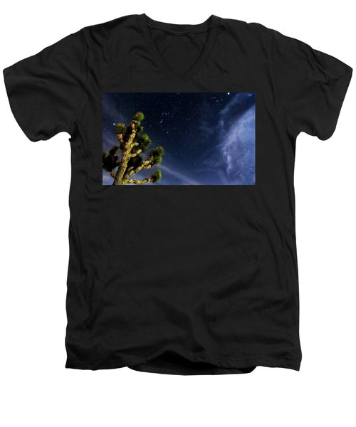 Reaching For The Stars Men's V-Neck T-Shirt