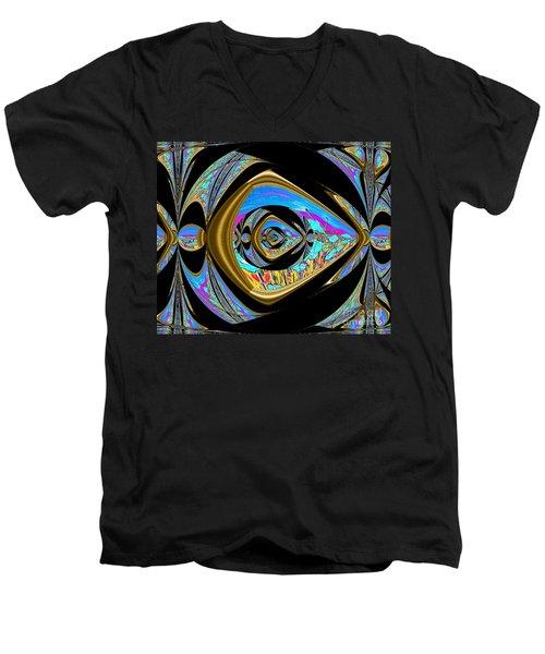 Reaching  The Dream Men's V-Neck T-Shirt