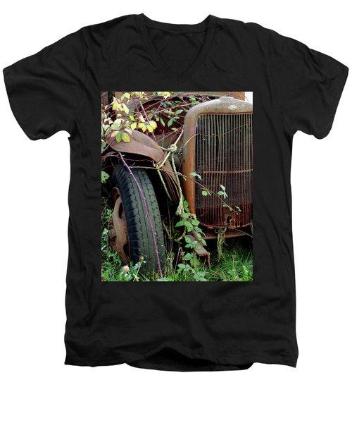 Reclaimed Men's V-Neck T-Shirt