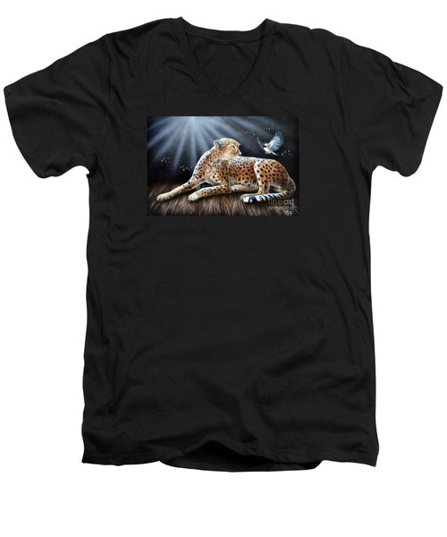 Reclusion  Men's V-Neck T-Shirt