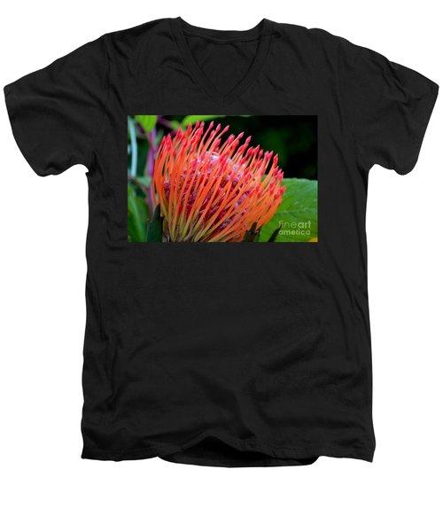 Red Pin Cushion Men's V-Neck T-Shirt