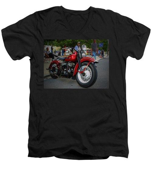Red Rider Men's V-Neck T-Shirt