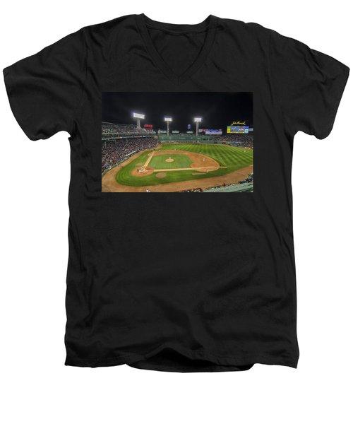 Red Sox Vs Yankees Fenway Park Men's V-Neck T-Shirt