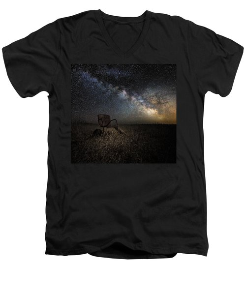 Redneck Planetarium Men's V-Neck T-Shirt