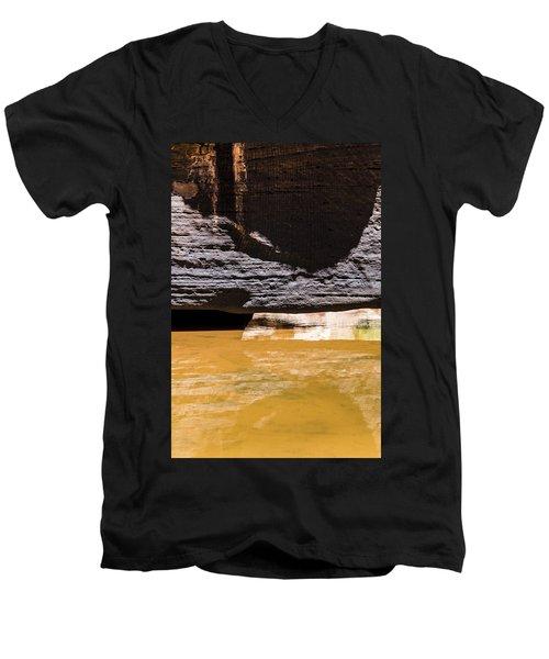 Reflected Formations Men's V-Neck T-Shirt