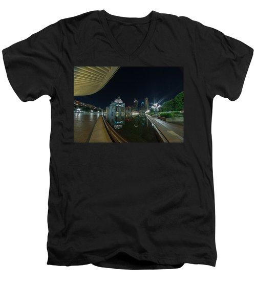 Reflecting Pool 2 Men's V-Neck T-Shirt