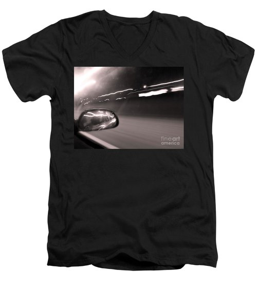 Reflections In The Night Men's V-Neck T-Shirt