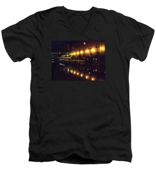 Men's V-Neck T-Shirt featuring the photograph Reflections by Jean Walker