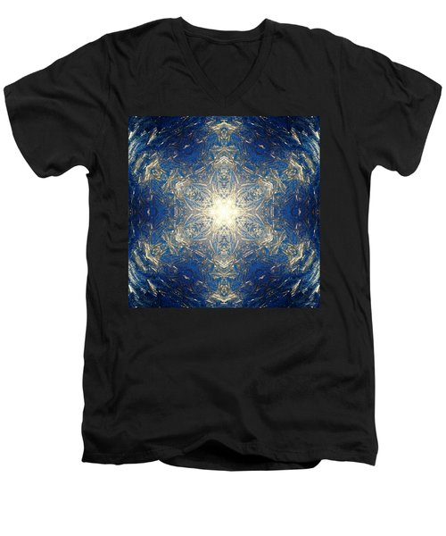 Reflective Ice I Men's V-Neck T-Shirt