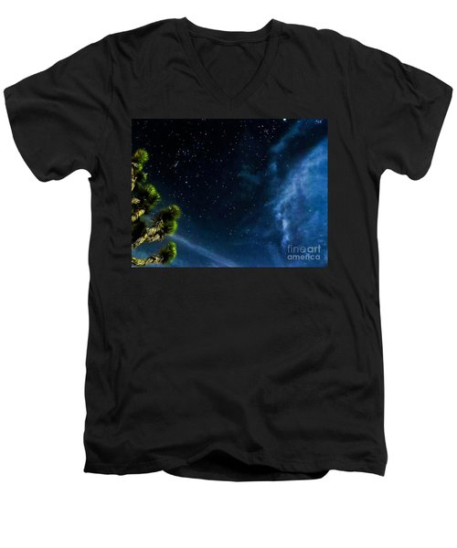Releasing The Stars Men's V-Neck T-Shirt