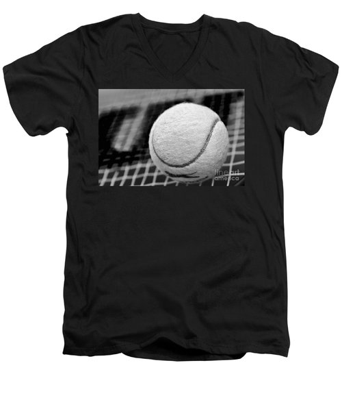 Remember The White Tennis Ball Men's V-Neck T-Shirt
