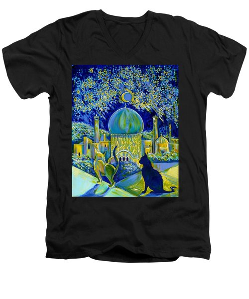Reminiscences Of Asia. Bed Time Story Men's V-Neck T-Shirt
