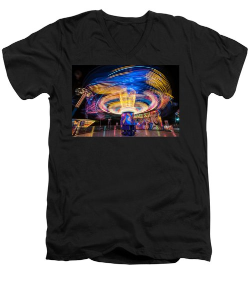 Remix Men's V-Neck T-Shirt