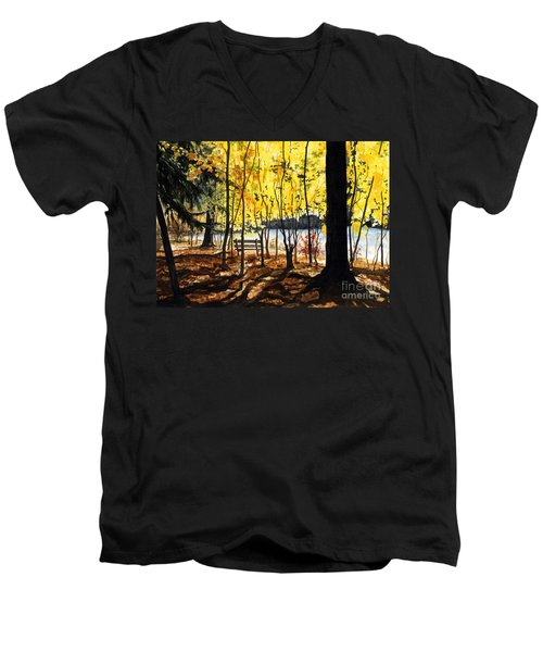 Resting Place Men's V-Neck T-Shirt