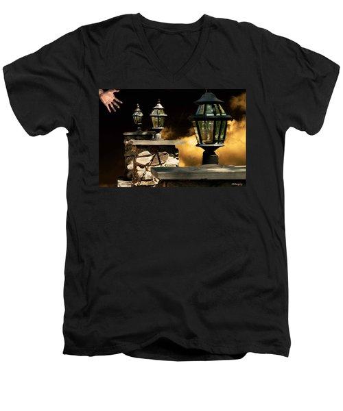 Revelations Inspired By Revelations 2 3 Men's V-Neck T-Shirt
